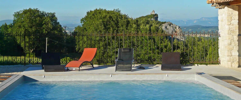 Mas et bastide saint ostian viviers location de for Ardeche gites piscine