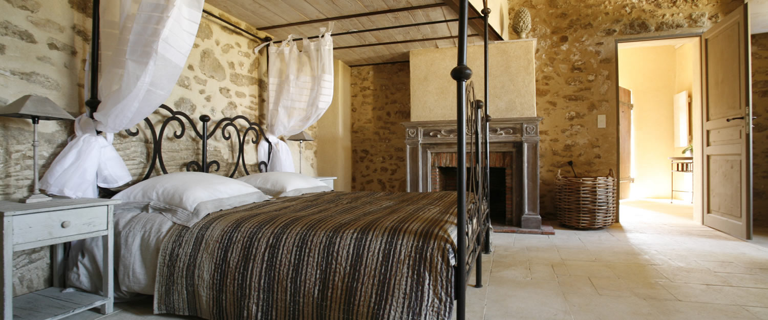chambre d 39 h tes le clos saint saourde beaumes de venise avignon et provence. Black Bedroom Furniture Sets. Home Design Ideas
