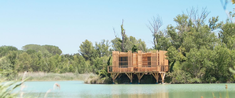 vacation rental les cabanes des grands c pages near. Black Bedroom Furniture Sets. Home Design Ideas