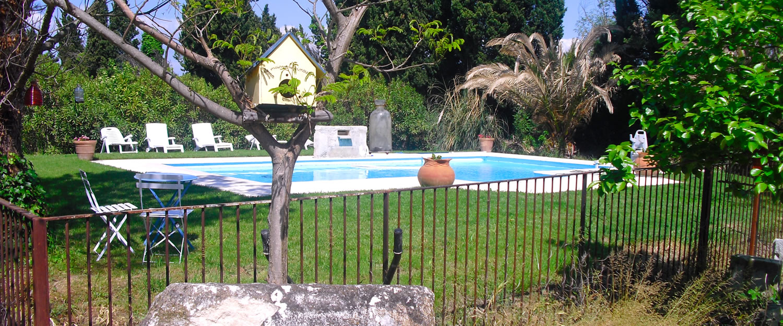 Chambre d 39 h tes le mas de rey in rognonas proche d - Chambre d hotes avignon piscine ...