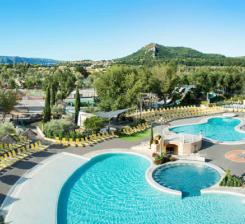 Campings en provence avignon et provence for Camping haute provence avec piscine