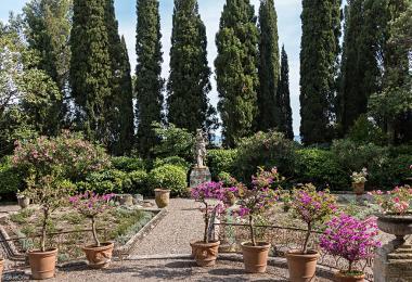 parcs et jardins de provence avignon et provence. Black Bedroom Furniture Sets. Home Design Ideas