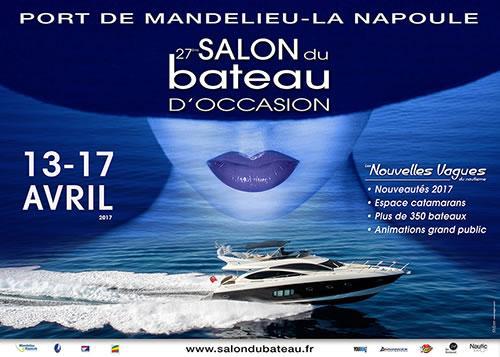 Salon du bateau d 39 occasion mandelieu la napoule du 13 au - Mandelieu la napoule office du tourisme ...