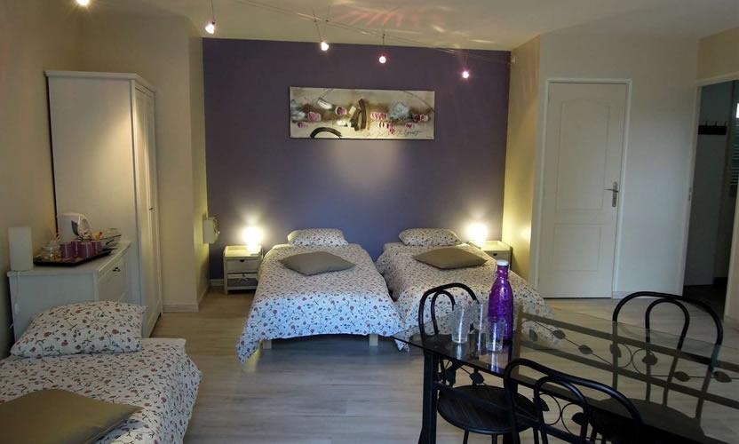 bed and breakfast la vigne et l 39 olivier in villeneuve lez avignon avignon et provence. Black Bedroom Furniture Sets. Home Design Ideas