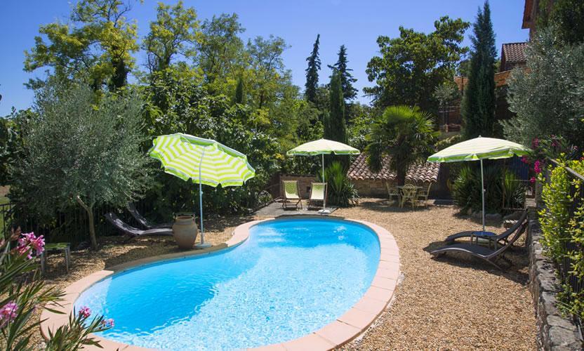 Chambre d 39 h tes la grange de mailhac barjac avignon et - Chambre d hotes avignon piscine ...