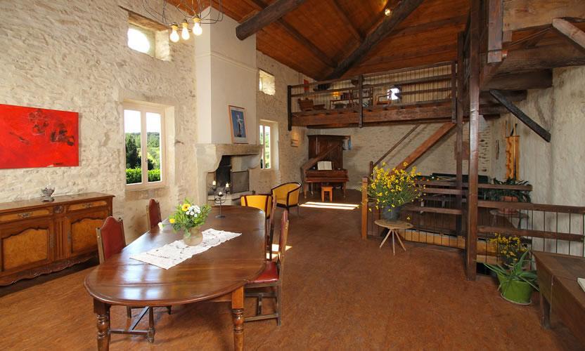 Chambre d 39 h tes mas de la roche montbrison sur lez avignon et provence - Chambre d hotes salon de provence ...