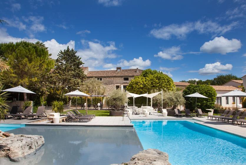 Mas Du Terme   4 Star Hotel With Pool. Outdoor Ambiance