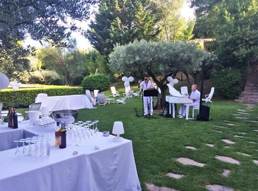 mariages banquets dans le var - Bastide Mariage Var