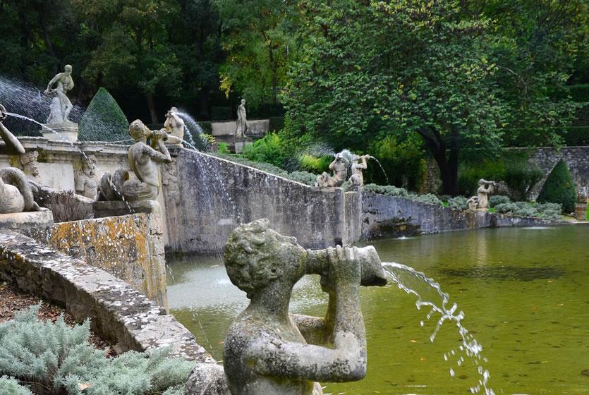 Jardins d 39 albertas bouc bel air avignon et provence - Plantes bassin de lagunage aixen provence ...