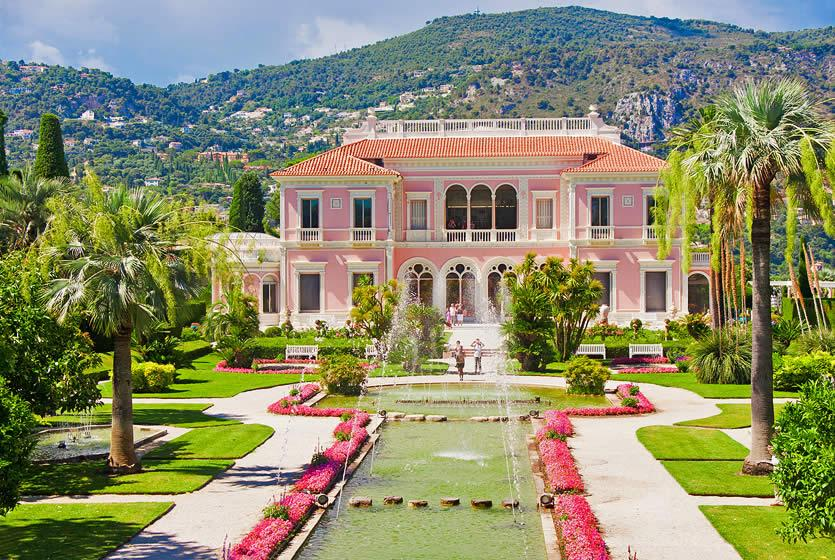Ephrussi de rothschild villa gardens avignon et provence - Jardins ephrussi de rothschild ...
