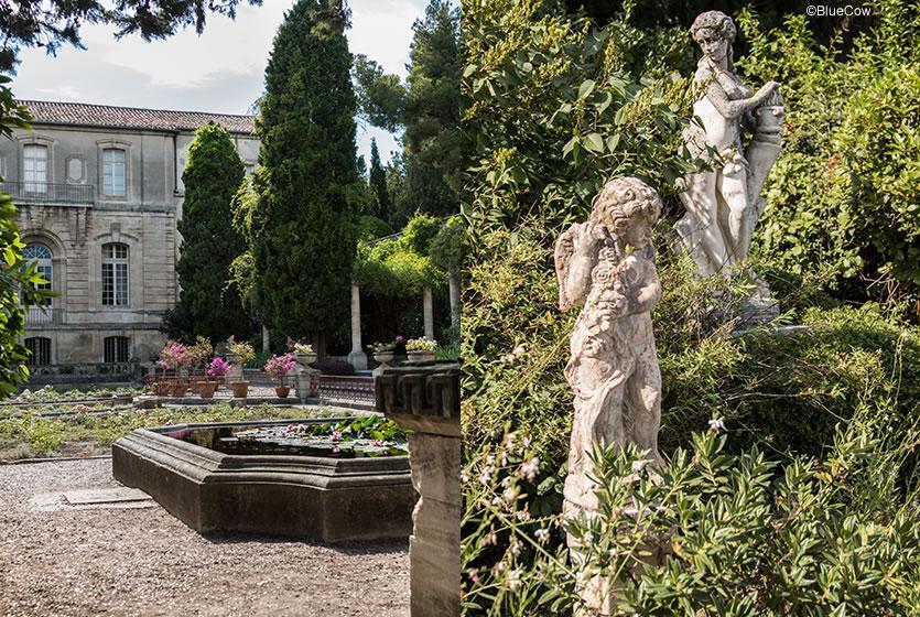 Les jardins et l 39 abbaye de saint andr villeneuve Entretien jardin villeneuve les avignon