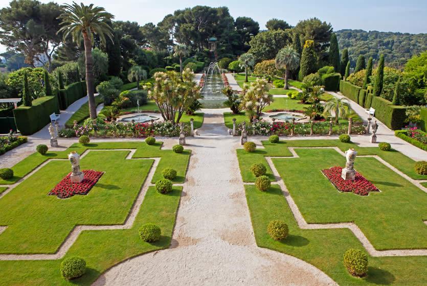 Villa jardins ephrussi de rothschild avignon et provence for Jardin villa rothschild