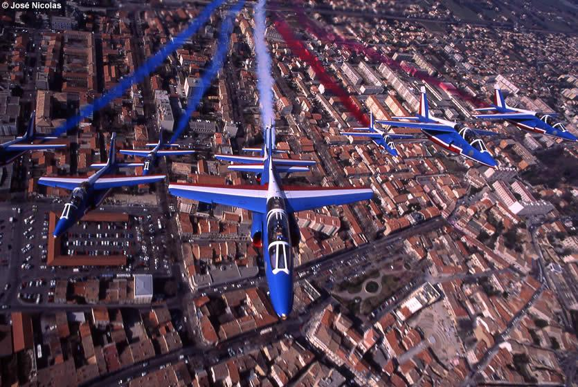La patrouille de france avignon et provence for Formation salon de provence