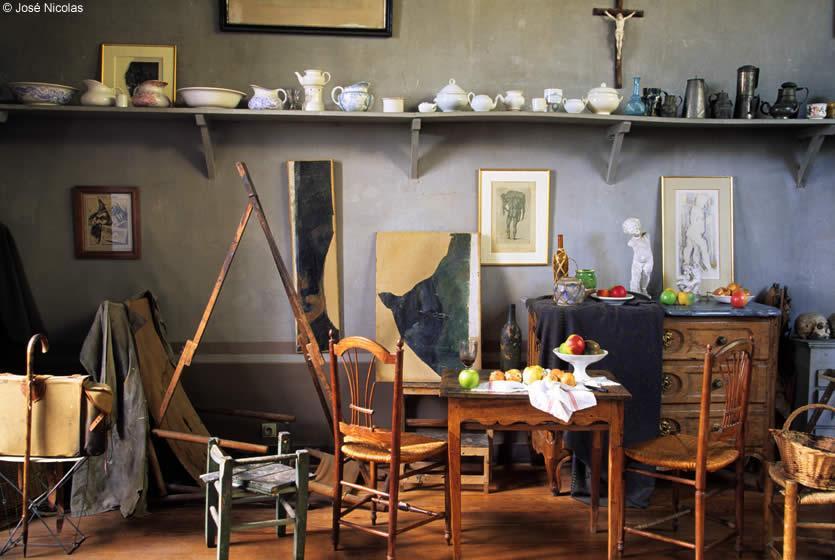 atelier c zanne mus e paul c zanne aix en provence avignon et provence. Black Bedroom Furniture Sets. Home Design Ideas