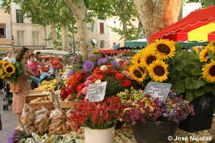 Agenda of markets of provence avignon et provence - Cuisine et confidences place du marche saint honore ...