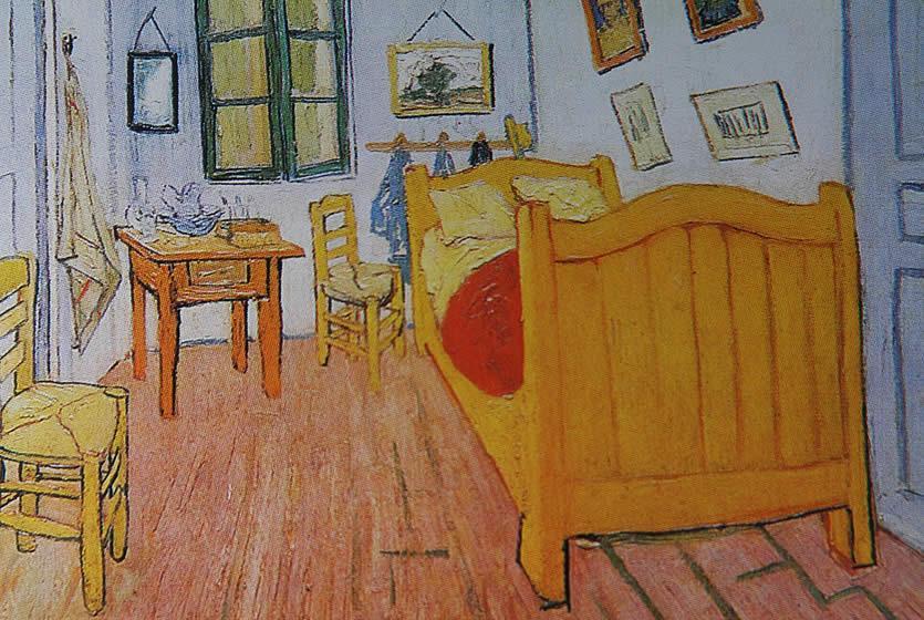 Vincent van gogh en provence avignon et provence for La chambre jaune a arles van gogh