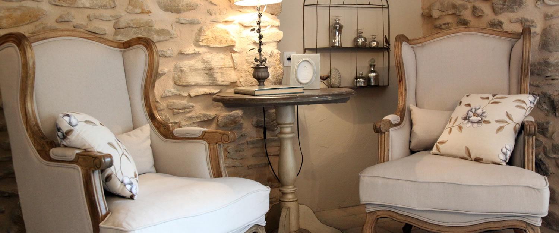 chambre d 39 h tes l 39 atelier du renard argent mornas avignon et provence. Black Bedroom Furniture Sets. Home Design Ideas