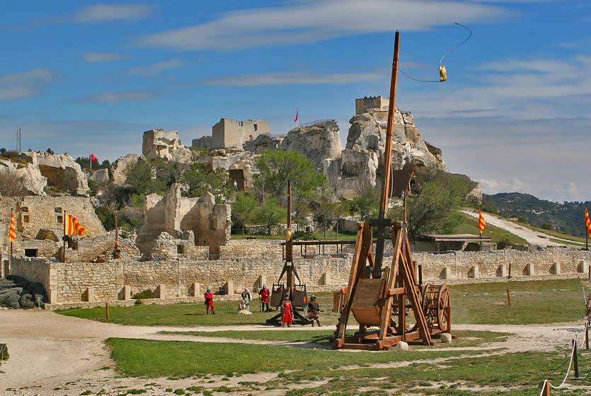 The Castle Of Les Baux Avignon Et Provence