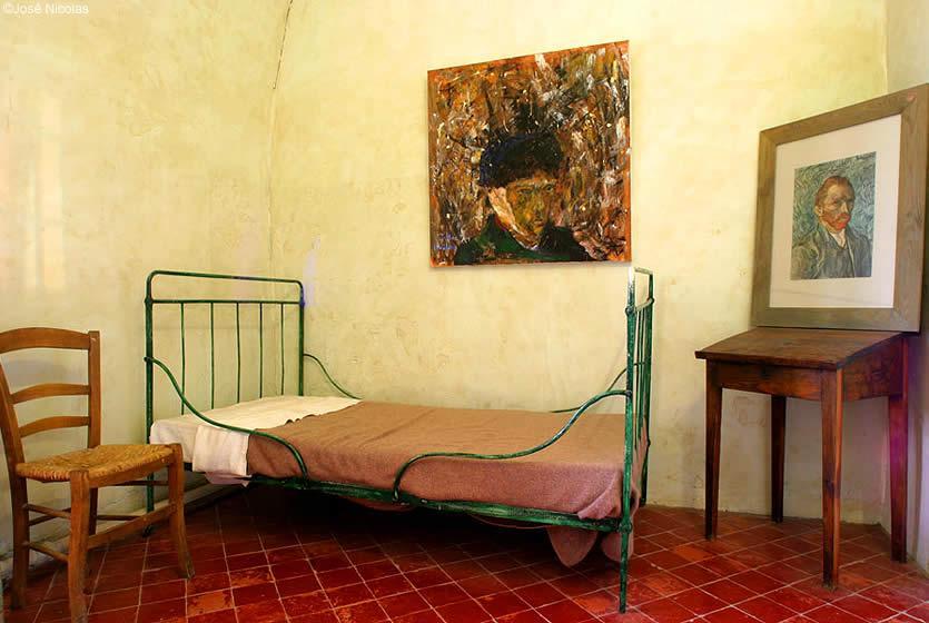 Reconstitution De La Chambre De Van Gogh Dans Le Monastère