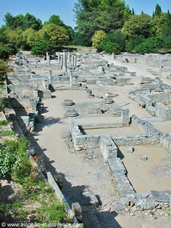 The Ancient Roman City Of Glanum In Saint Remy De Provence Avignon Et Provence
