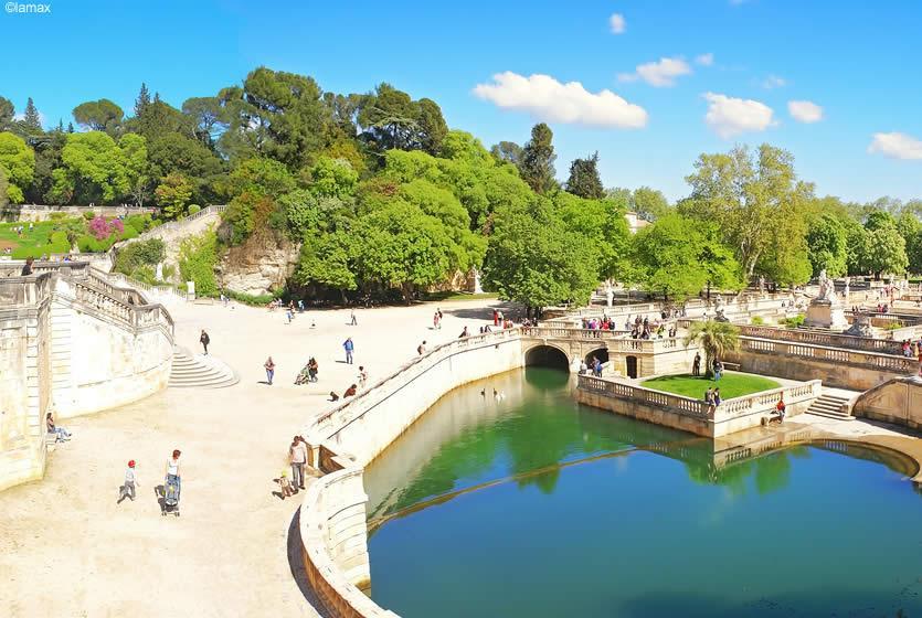 Jardins De La Fontaine In Nimes Avignon Et Provence